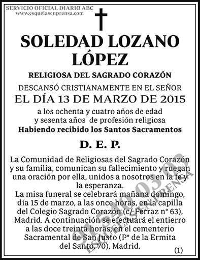 Soledad Lozano López